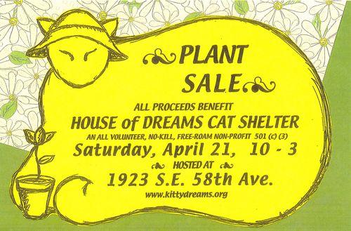 Plant sale color