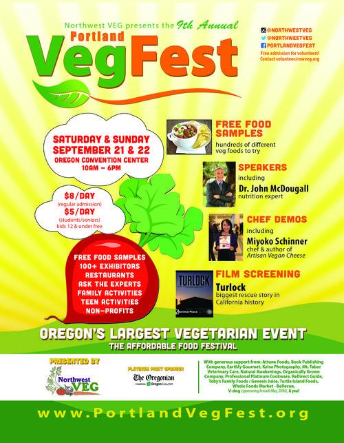 VegFest 2013 Poster (8-5x11)